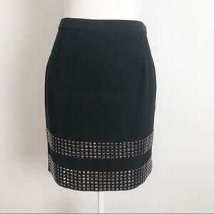 MICHAEL Michael Kors Stretch Studded Pencil Skirt